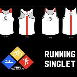 Running Singlet White