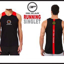 Running Singlet Black